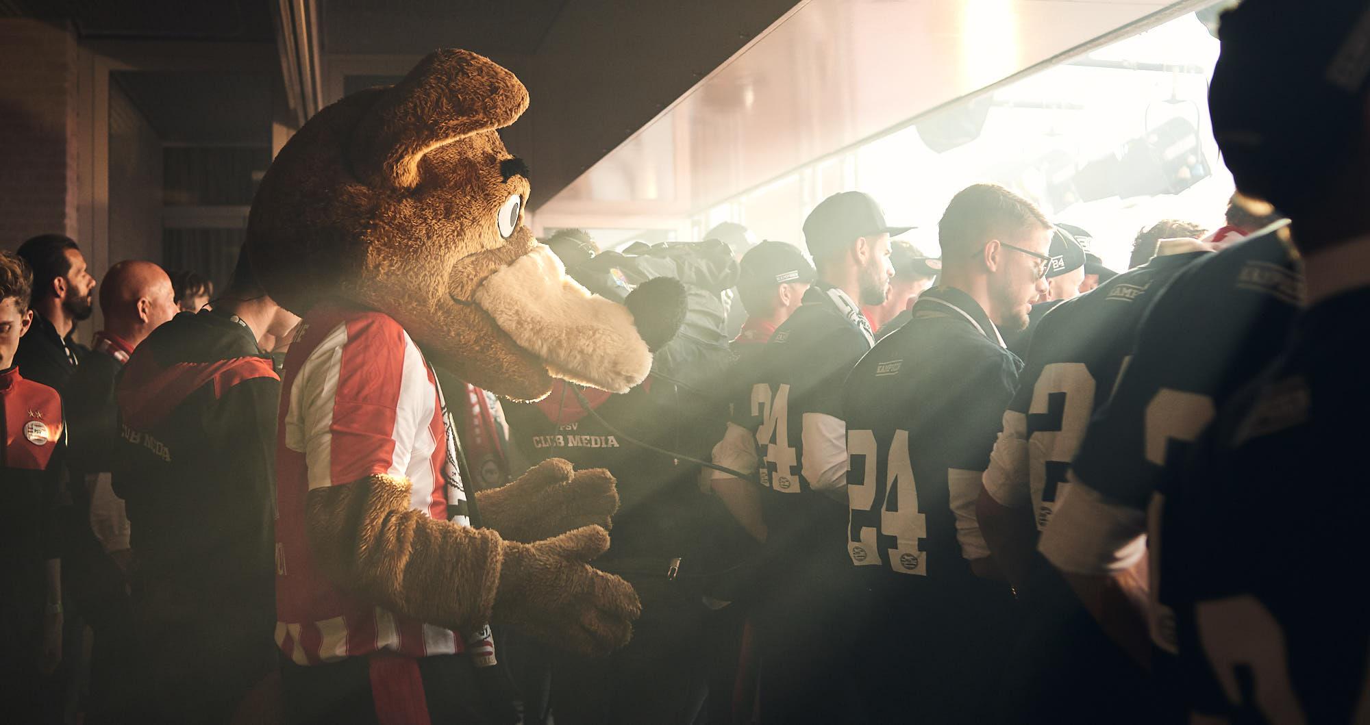PSV Eindhoven Mascot Phoxy