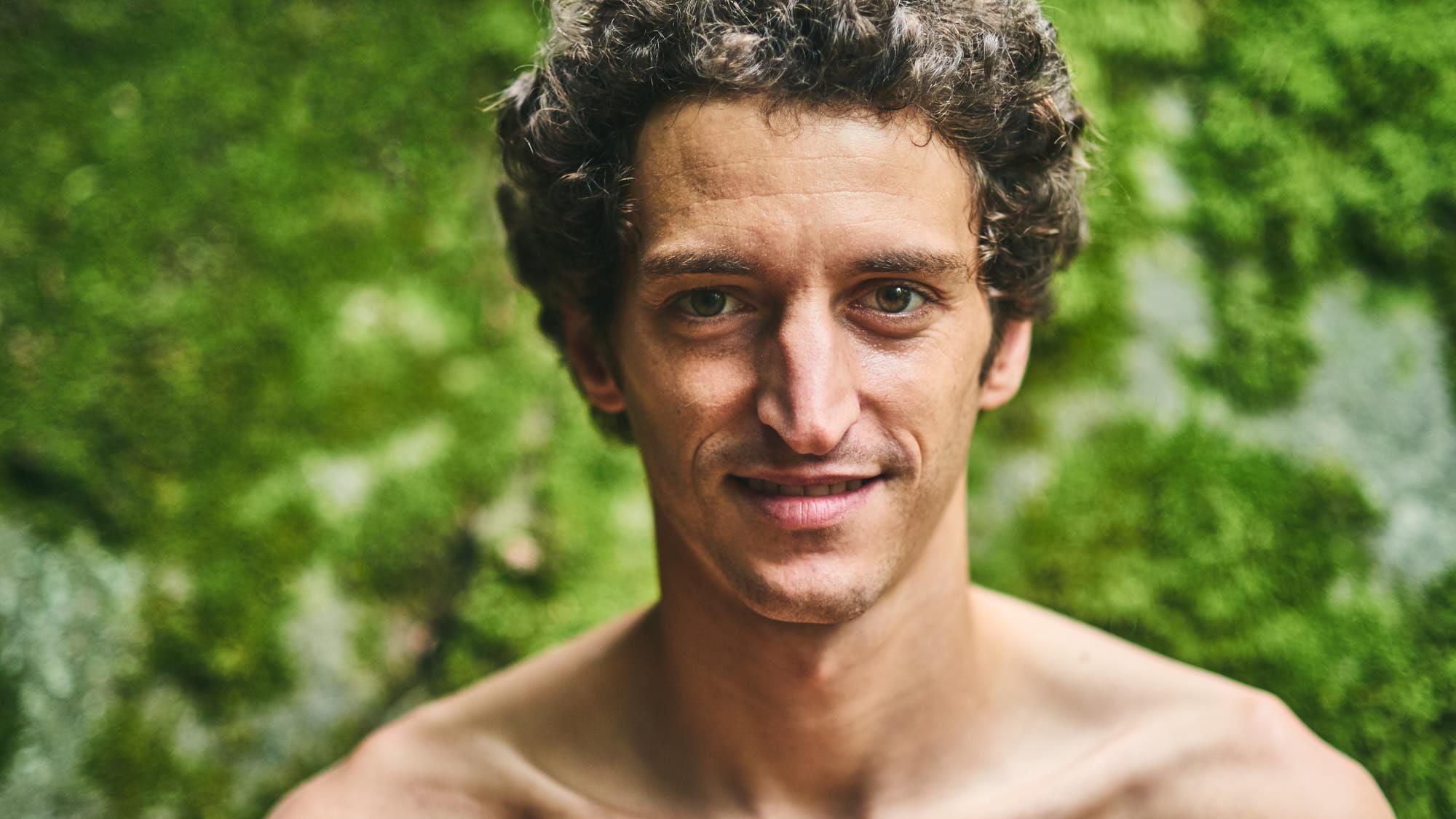 Portrait of Mad Rock athlete Guillaume Glairon Mondet