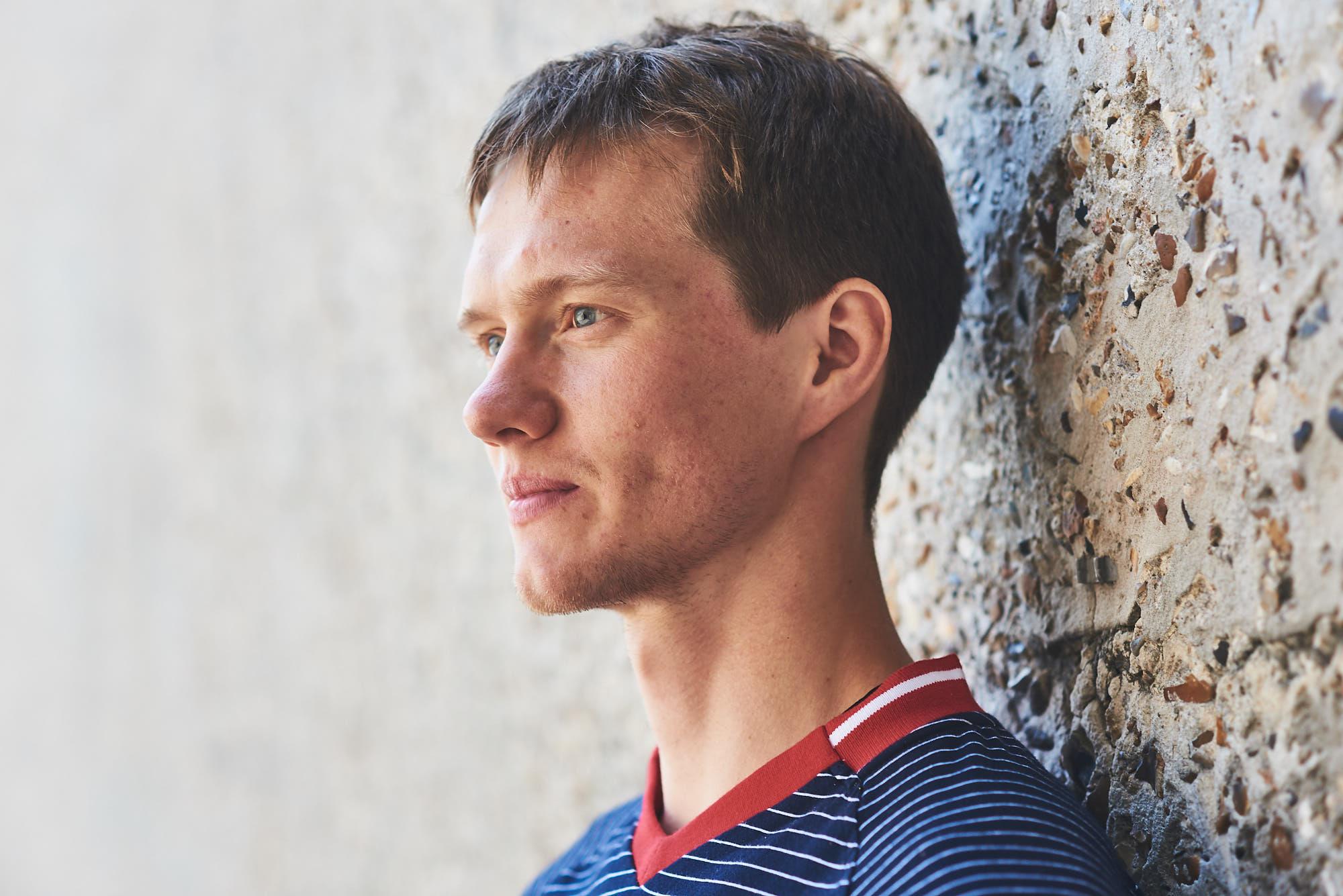 Portrait of Mad Rock climbing athlete Alexey Rubtsov