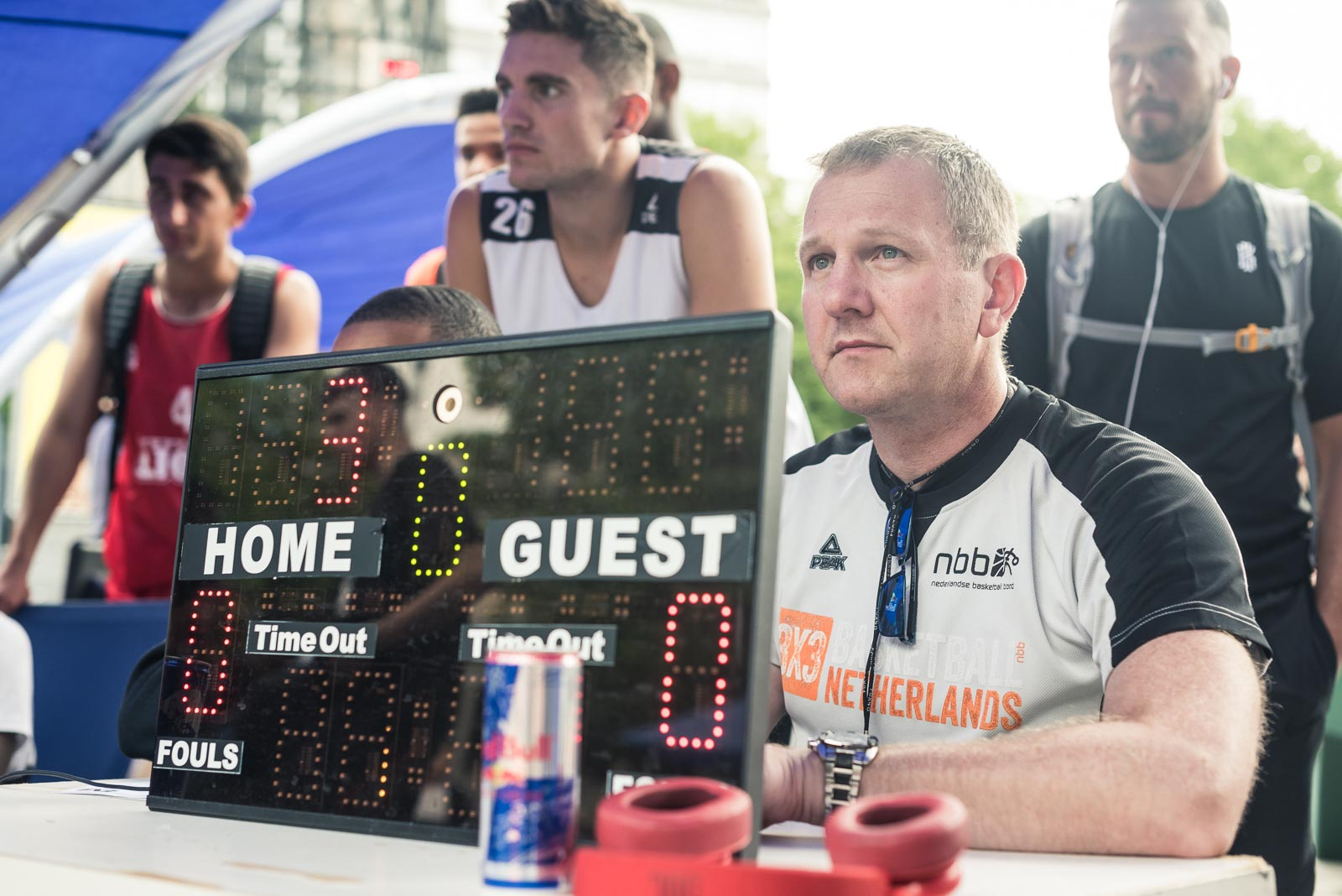 Referee during Red Bull Reign in Rotterdam