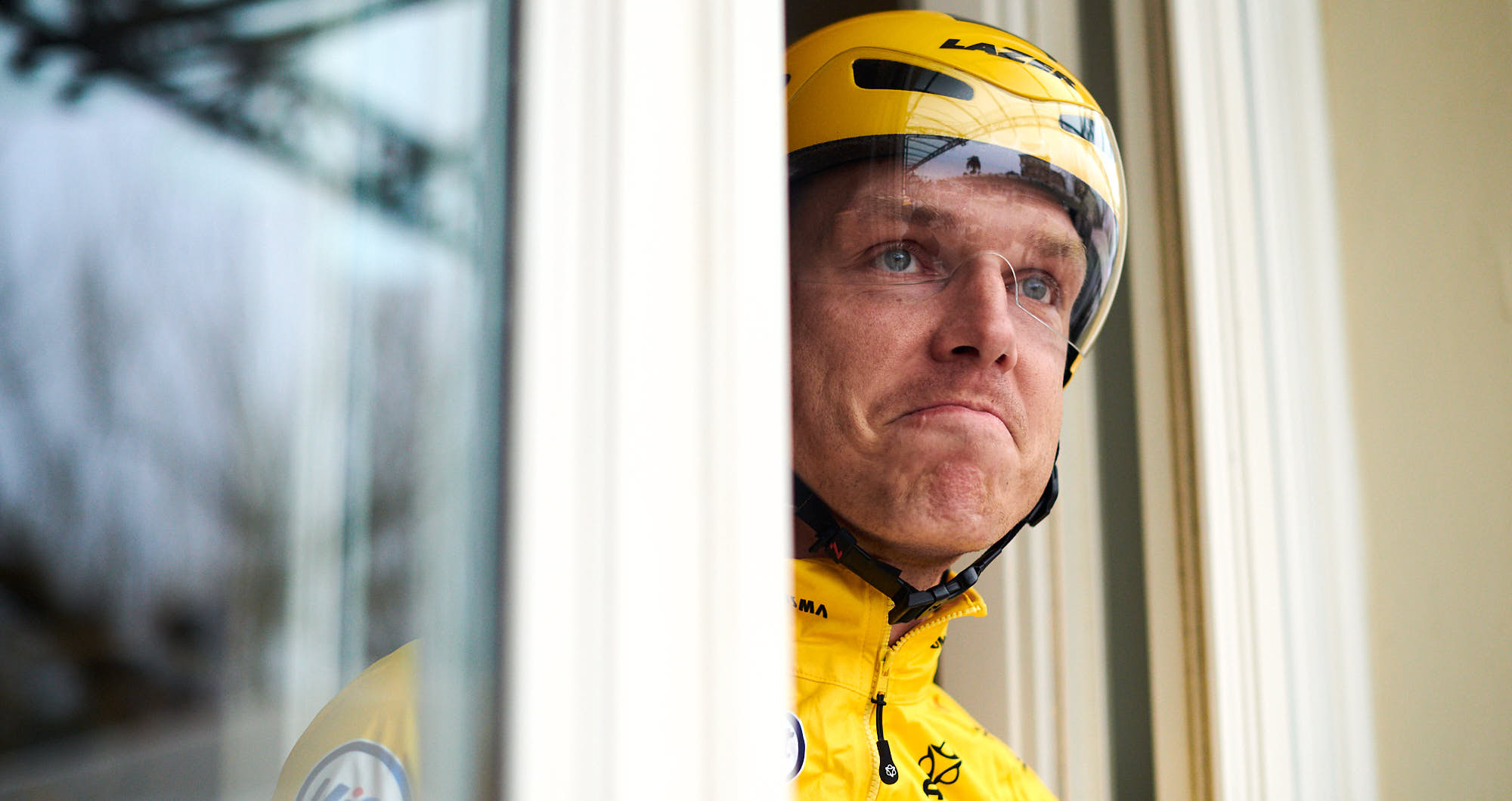 German cycling star Tony Martin not fancying the weather in Italy
