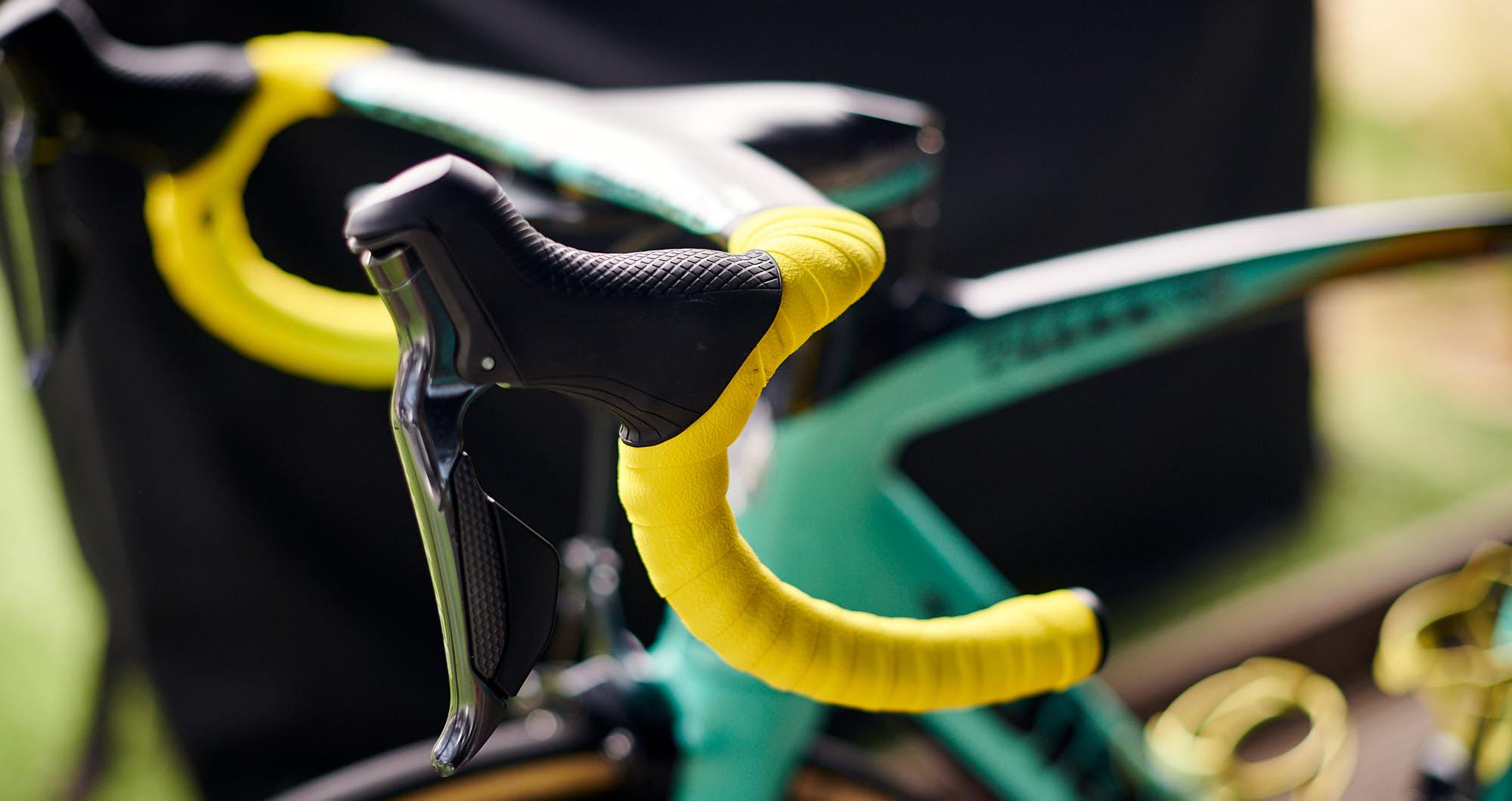 Mike Teunissen's bike in the 2019 Tour de France