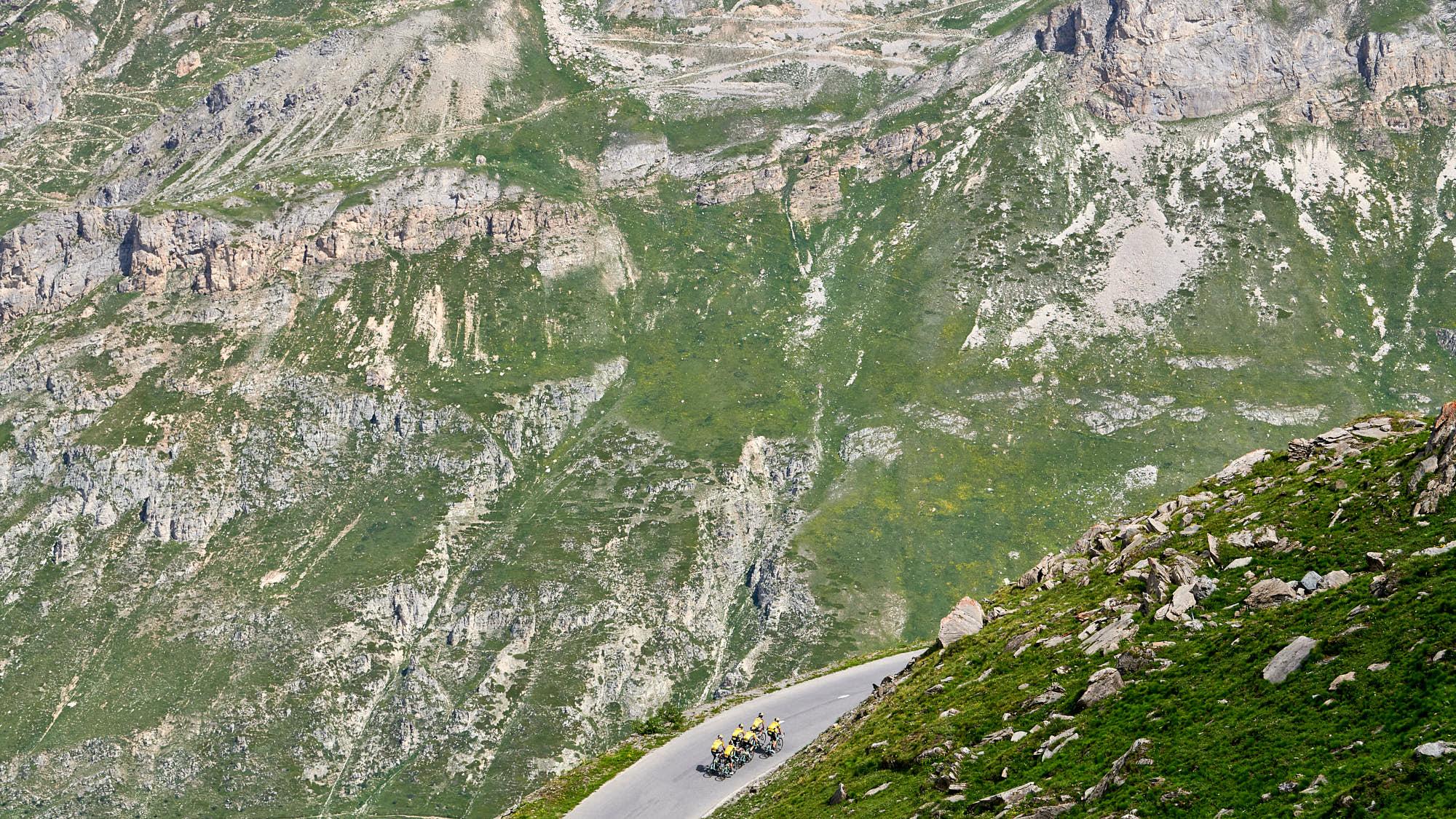 Landscape photo of Col de l'Iseran